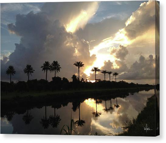 Sunrise Storm Canvas Print