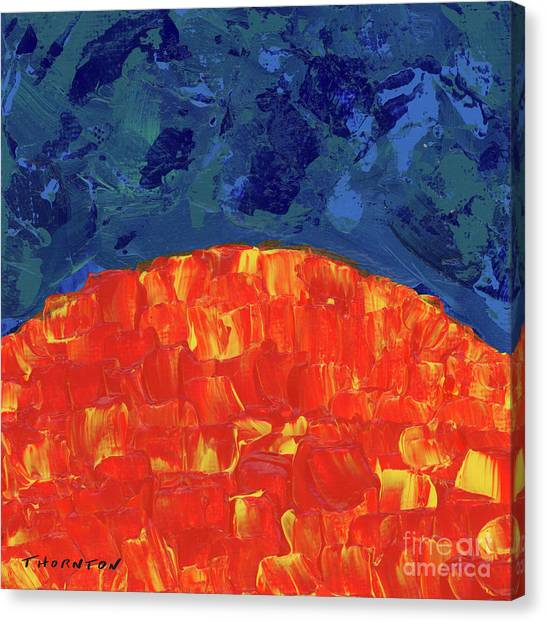 Sunrise Sunset 6 Canvas Print