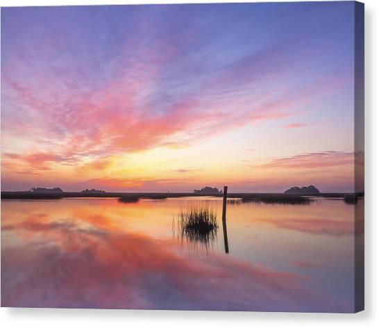 Sunrise Sunset Art Photo - I Belong Canvas Print