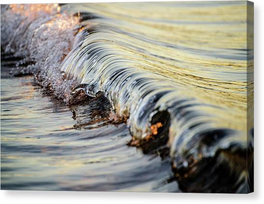 Sunrise Wave Canvas Print