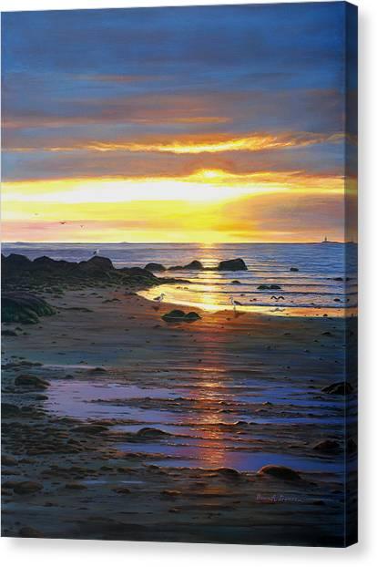 Sunscape Canvas Print by Bruce Dumas