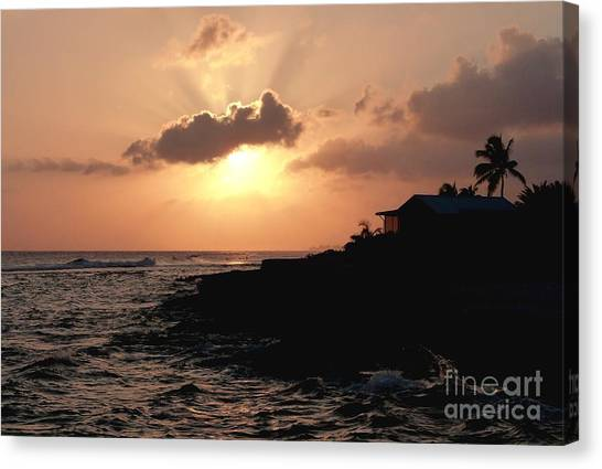 Sunset @ Spotts Canvas Print