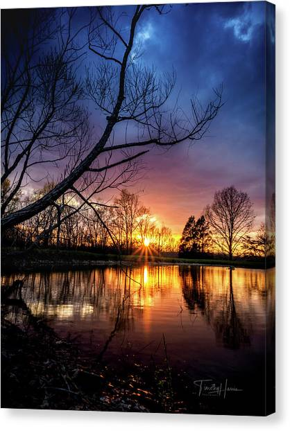 Sunset #10 Canvas Print
