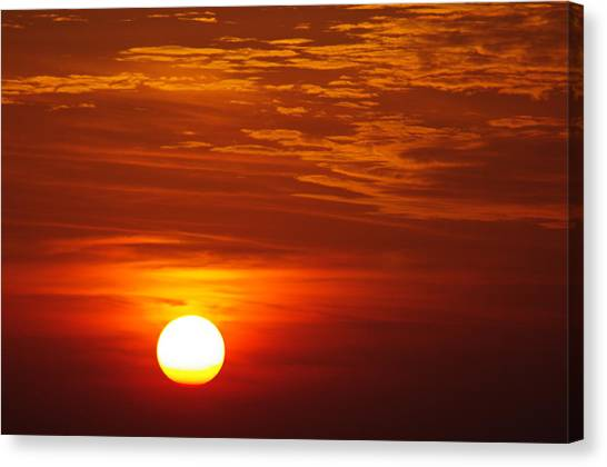 Sunset 11 Canvas Print by Don Prioleau