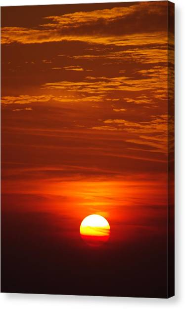 Sunset 13 Canvas Print by Don Prioleau