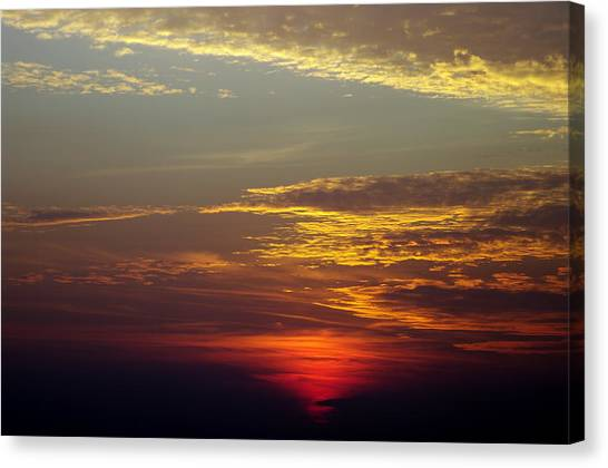 Sunset 18 Canvas Print by Don Prioleau