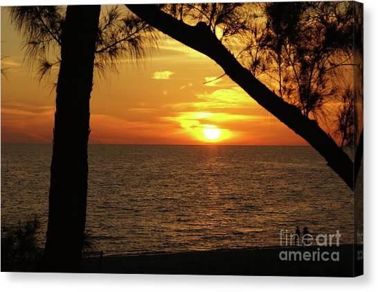Canvas Print - Sunset 2 by Megan Cohen