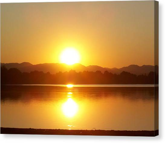 Sunset 2 Canvas Print by Travis Wilson