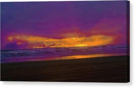Sunset #3 Canvas Print