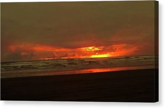 Sunset #5 Canvas Print