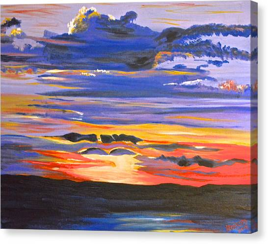Sunset #5 Canvas Print