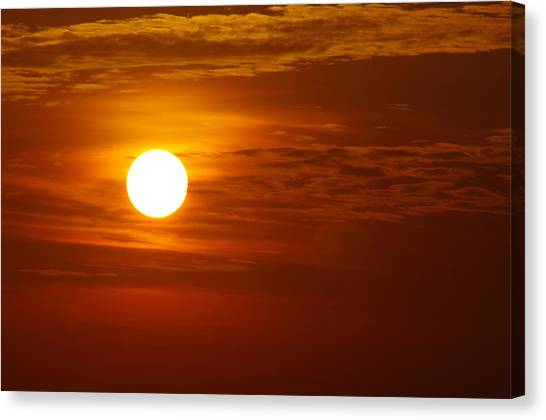 Sunset 7 Canvas Print by Don Prioleau