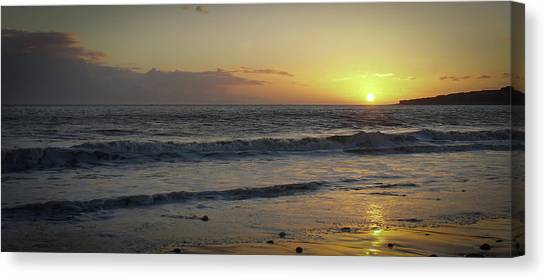 Sunset At Barry Canvas Print