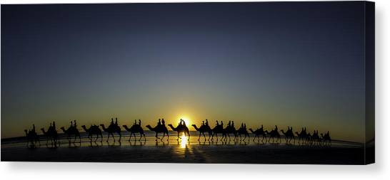 Sunset At Cable Beach Canvas Print
