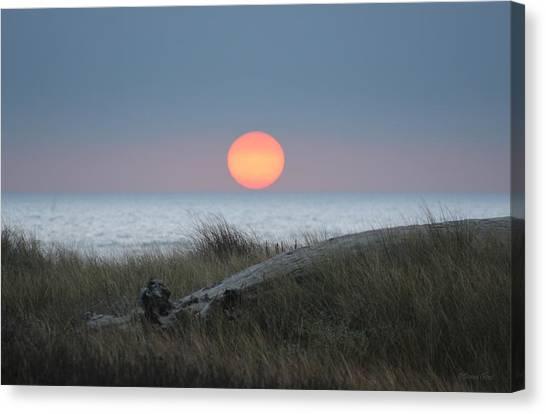 Sunset At Halfmoon Bay Canvas Print