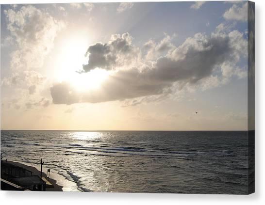 Sunset At Jaffa Beach 17 Canvas Print