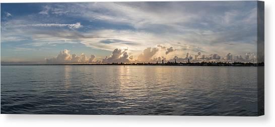 Sunset At Key Largo Canvas Print