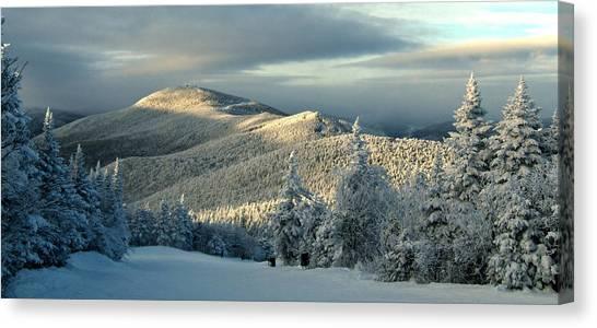Vermont Canvas Print - Sunset At Killington Vermont by Angelo Rolt