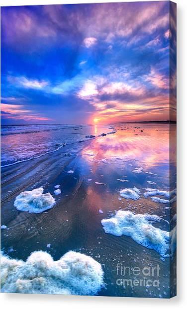 Sunset At Sunset Canvas Print