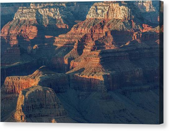 Sunset At The South Rim, Grand Canyon Canvas Print