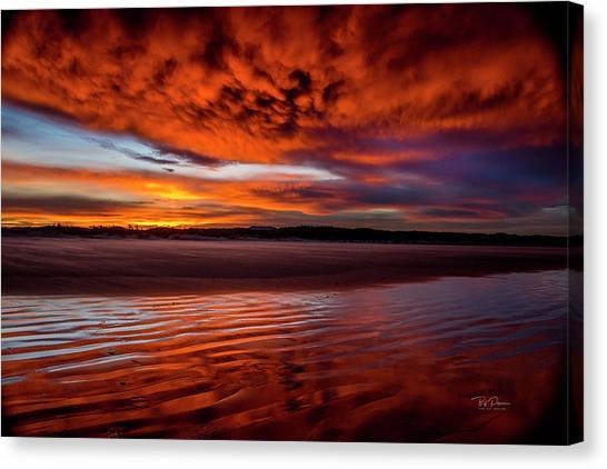 Sunset Beach 5 Canvas Print