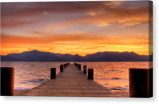 Sunset Bliss Canvas Print