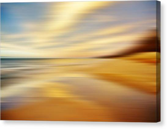 Sunset Breez'n Canvas Print