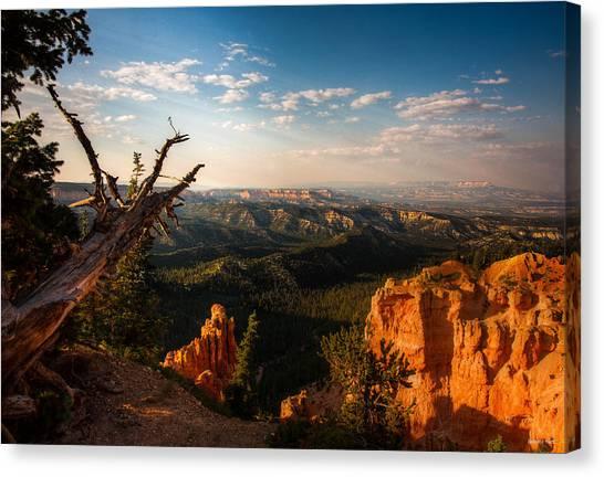 Sunset Bryce Canvas Print