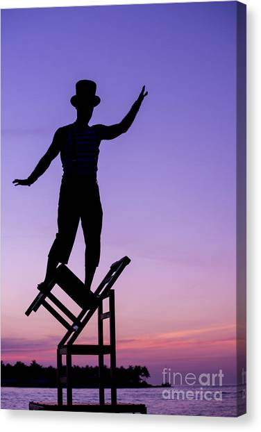 Acrobatic Canvas Print - Balancing Act by Juli Scalzi