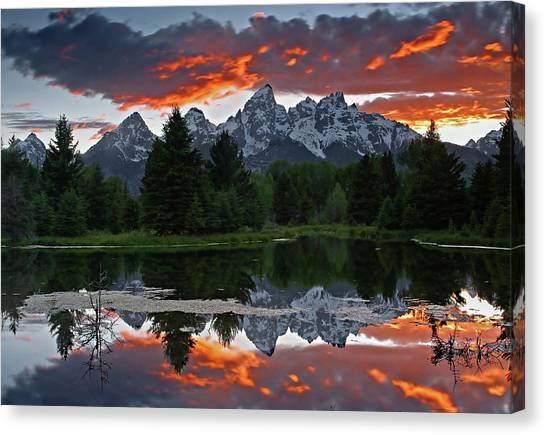 Sunset Clouds Canvas Print