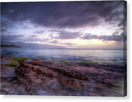 Canvas Print featuring the photograph Sunset Dream by Break The Silhouette