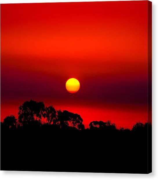 Pic Canvas Print - Sunset Dreaming by Az Jackson