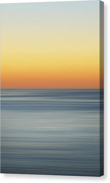 Fluids Canvas Print - Sunset Dreams by Az Jackson