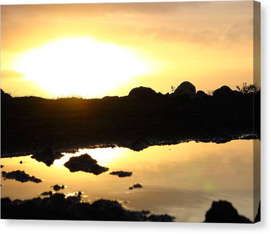Sunset Canvas Print by Edan Chapman