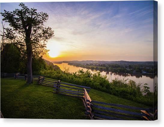 Sunset From Boreman Park Canvas Print
