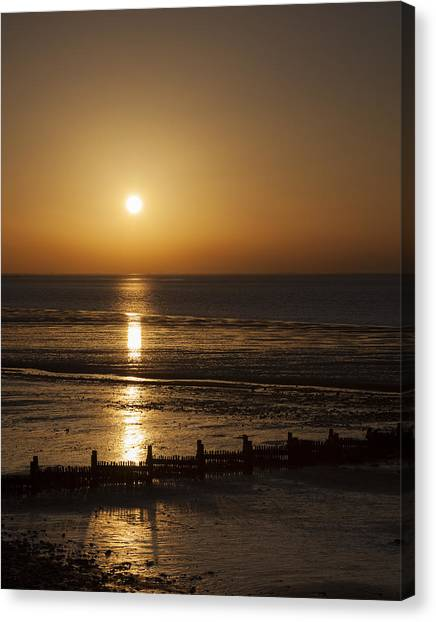 Sunset Hunstanton Canvas Print