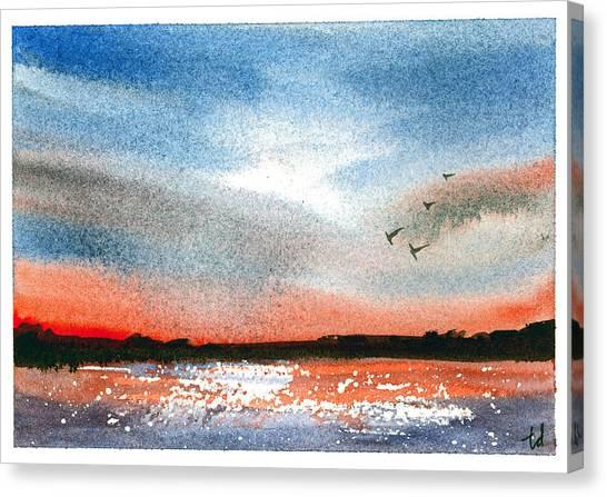 Sunset IIi Canvas Print