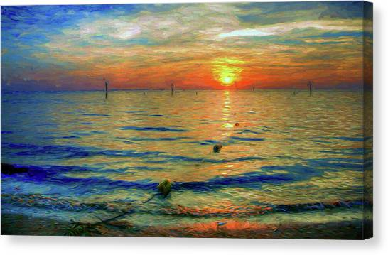 Sunset Impressions Canvas Print