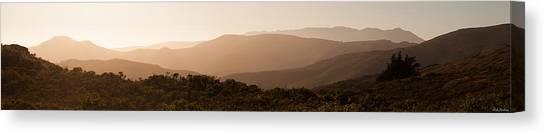 Sunset In California Canvas Print