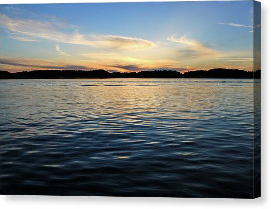 Canvas Print - Sunset In Denmark by Jo Jackson