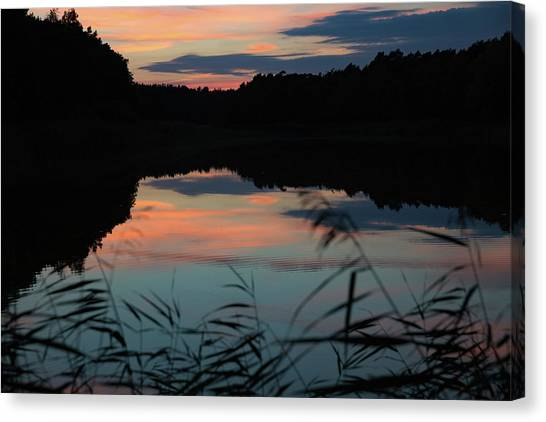 Sunset In September Canvas Print