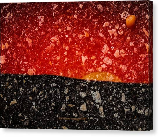 Sunset In Stone Canvas Print