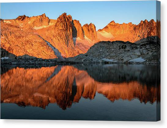 Sunset In The Higher Enchantment Canvas Print