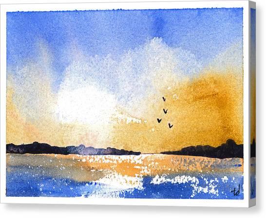 Sunset Iv Canvas Print