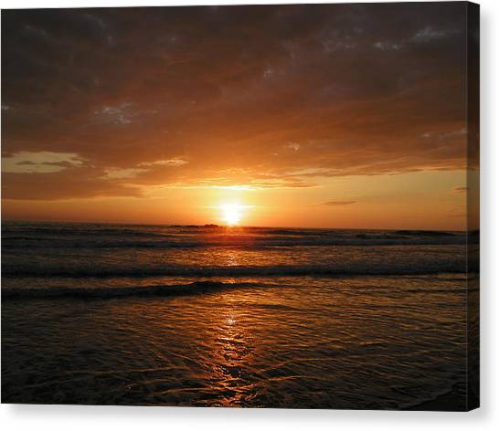 Sunset No.5 Canvas Print by Gregory Young