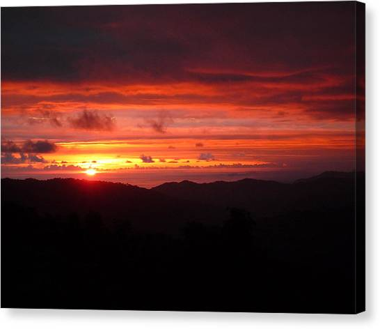 Sunset No.7 Canvas Print by Gregory Young
