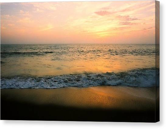 Sunset On Captiva Canvas Print