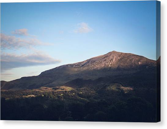 Canvas Print - Sunset On Schiehallion by Jo Jackson