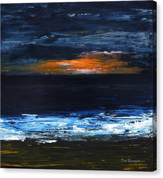 Sunset On The Horizon Canvas Print