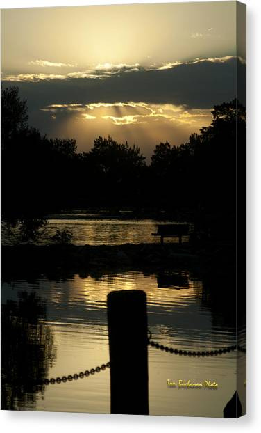 Sunset Over Henderson Canvas Print